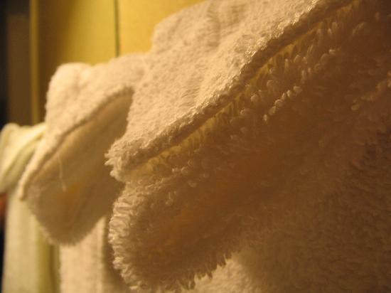 Rodeway Inn East: Soft fluffy towels