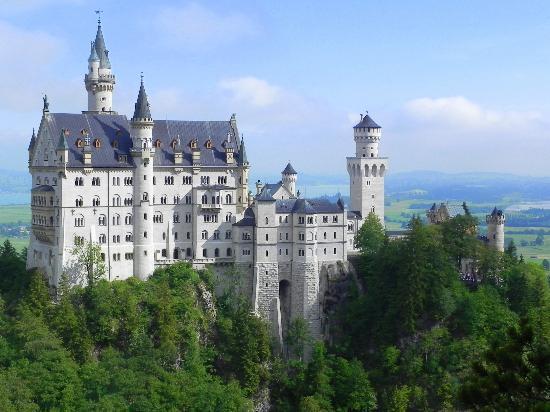 Château de Neuschwanstein : il castello