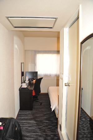 the b hakata: couloir