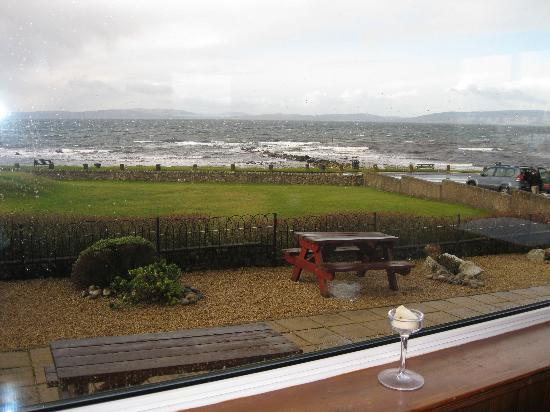 Blackwaterfoot, UK: View from the lounge