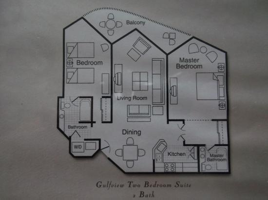 Diagram Of Gulf View Picture Of Pointe Estero Beach Resort Fort