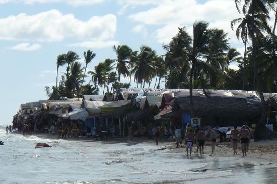 Grand Bahia Principe Bavaro: marché aux puces sur la plage