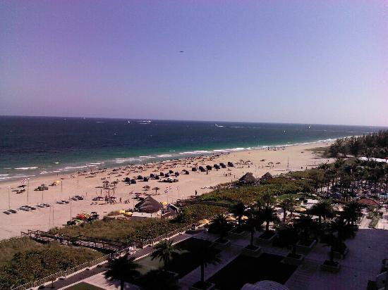 Fort Lauderdale Marriott Harbor Beach Resort & Spa: View from our balcony