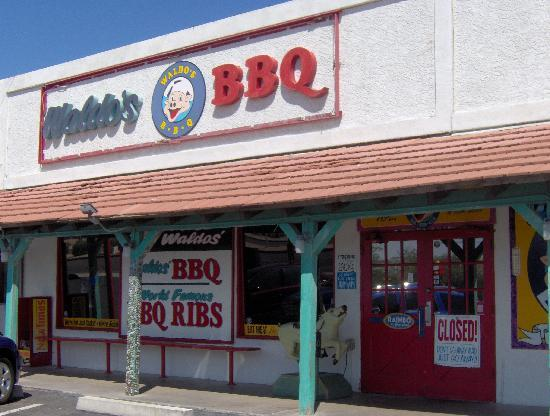 Waldo's BBQ: Our Store Front