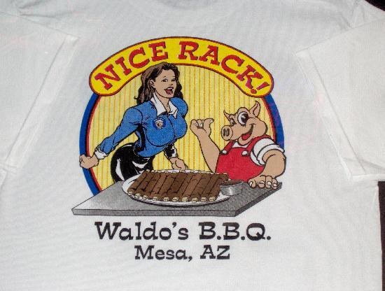 Waldo's BBQ: T-Shirts for sale!