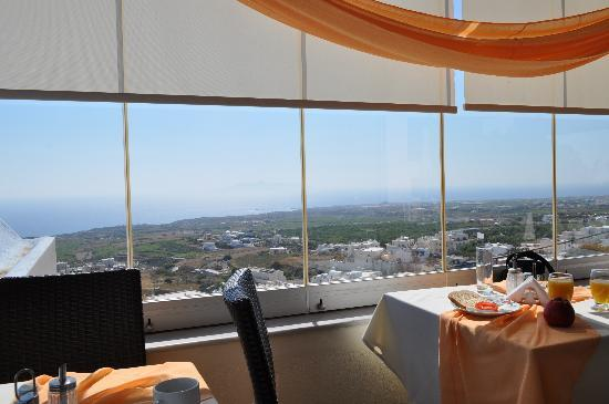 Amerisa Suites: Vista del desayunador 2.