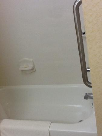 Fairfield Inn Uniontown: shower