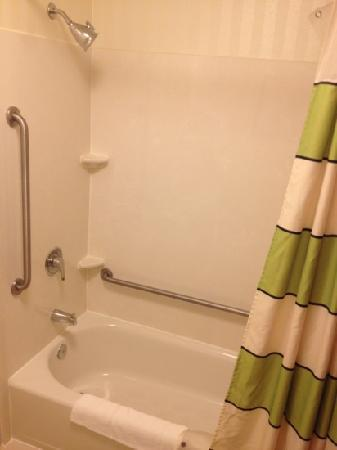 Fairfield Inn & Suites Dulles Airport Chantilly : standard shower