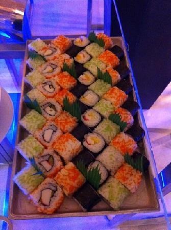 Yas Island Rotana: sushi