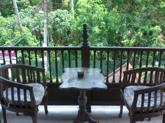 Sunhouse Guest House: the balcony