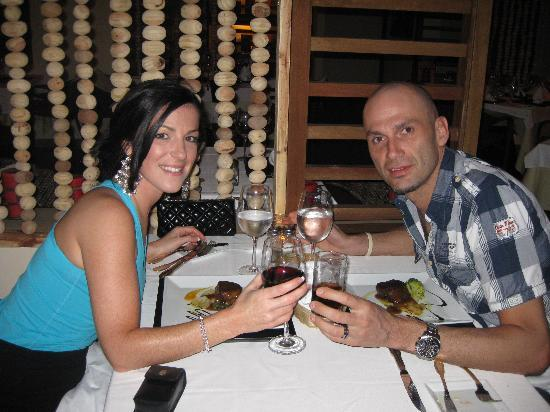Melia Buenavista: Just one of our enjoyable dinners!!!