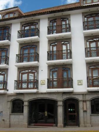 Hotel Hacienda Plaza de Armas: Fachada Hotel Puno Plaza