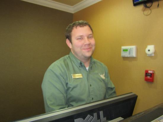 Sleep Inn & Suites Huntsville: Friendly Staff