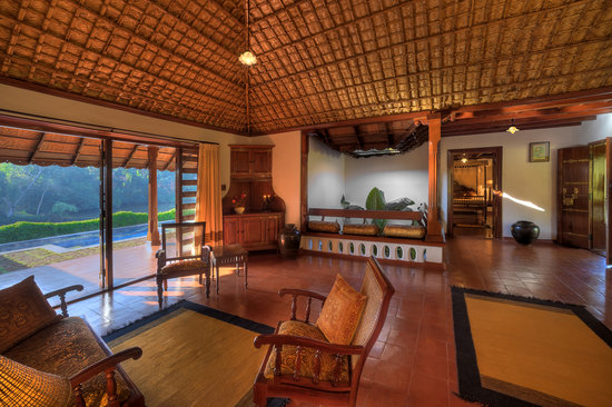 Orange County, Coorg: Private Pool Villa - Living Room