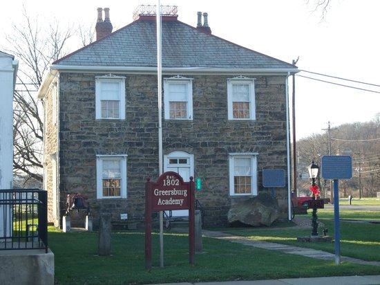 Darlington, PA: Greersburg Academy Building