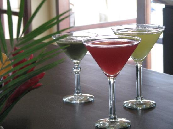 AHKi B&B Retreat: Delicious fresh juices...
