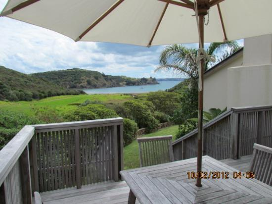 Owhanake Bay Estate: View from our patio