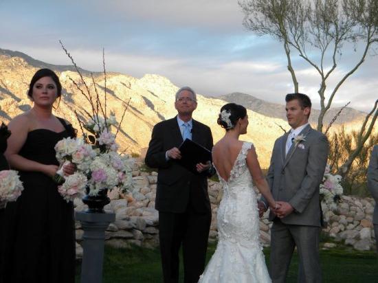Westin La Paloma Resort and Spa: Wedding Ceremony Background