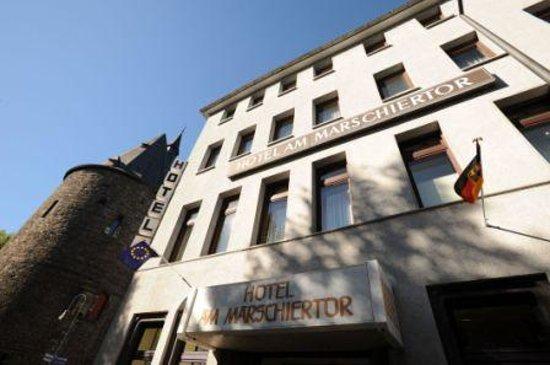 Hotel am Marschiertor: Hoteleingang