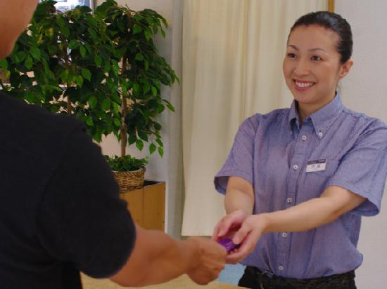 Izumikyo Rental Cottage: 暖かい笑顔でお客様をお迎えいたします。