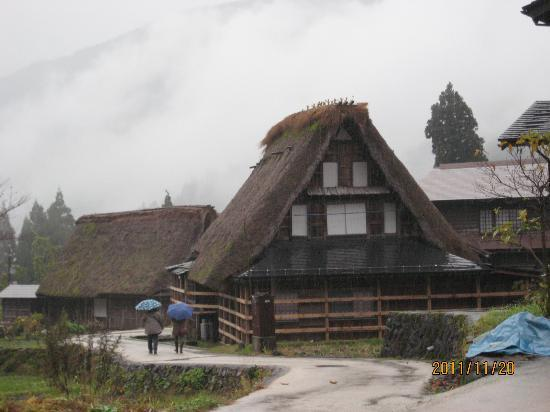 Nanto, Japan: Ainokura Village.