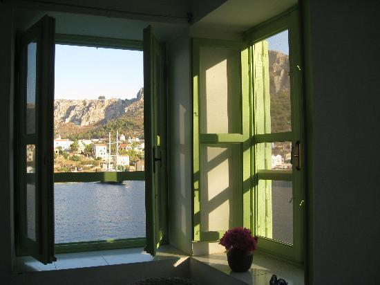 Mediterreneo Kastelorizo: Vue depuis notre chambre...