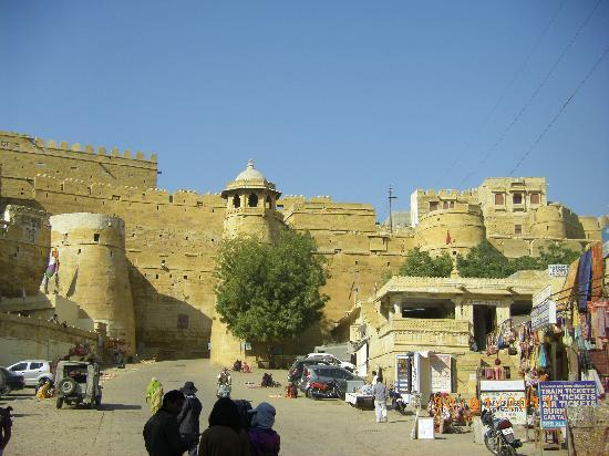 "Hotel Paradise Palace on Fort: ""Sonar Kella"" - the Golden Fort."""