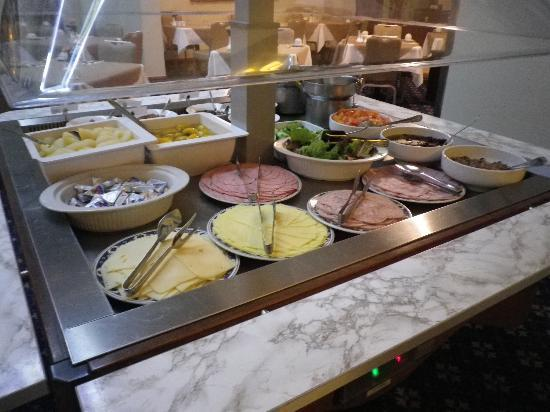 The Victoria Hotel : New chilled breakfast bar section of the breakfast