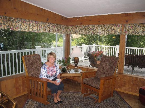Warm Springs Inn & Winery: Our host, Kathy Wilder