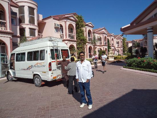 Hotel Kohinoor: entrance