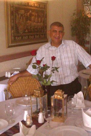 Rama Mahal Bar & Restaurant : Your host-Ram