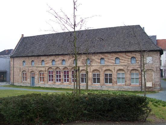 Kortrijk 1302: Ancienne abbaye de Groeninge (1597)