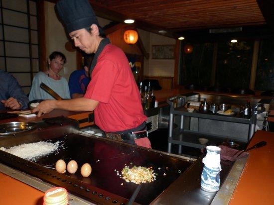 Please no running in the garden picture of shogun - Shogun japanese cuisine ...