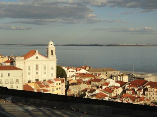 Miradouro de Santa Luzia : vista dal miradouro