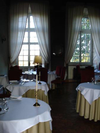 Abbaye de Villeneuve : la salle à manger