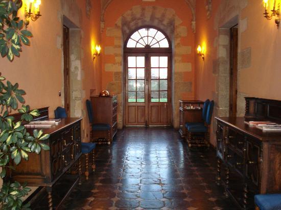 Abbaye de Villeneuve : les pièces communes