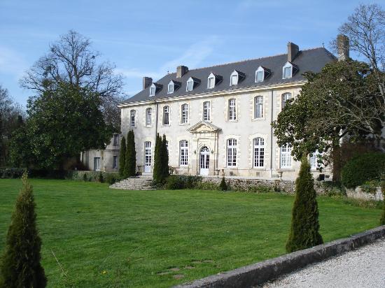 Abbaye de Villeneuve: l'entrée