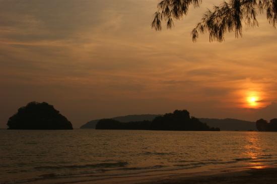Thip Residence Boutique Hotel: coucher de soleil Ao Nang