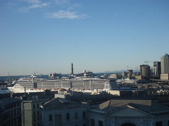 Grand Hotel Savoia: View from the 6th floor