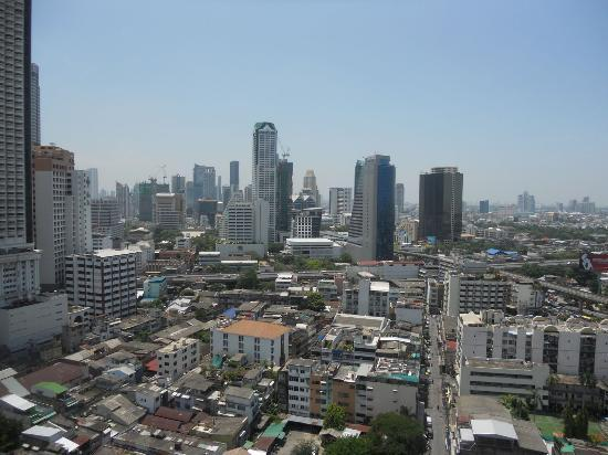 Centre Point Hotel Silom: View from 21st floor