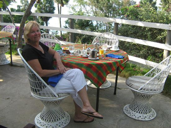 Breakfast at Treasure Beach Hotel