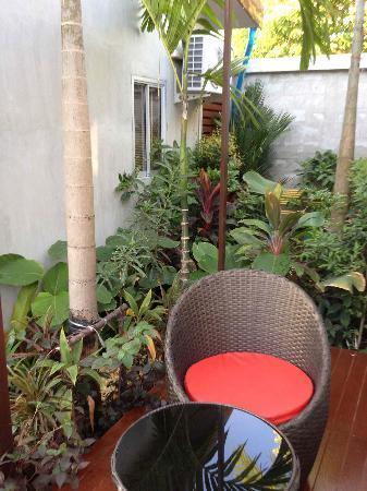 Phu NaNa Boutique Hotel : Terrasse
