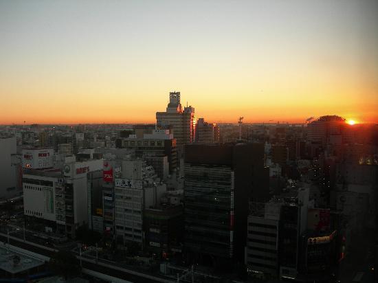 Kawasaki Nikko Hotel: 客室からの朝の眺めです。