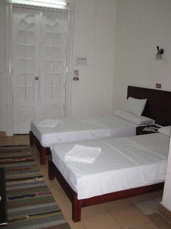 Hotel Transit Alexandria : Simple, clean beds