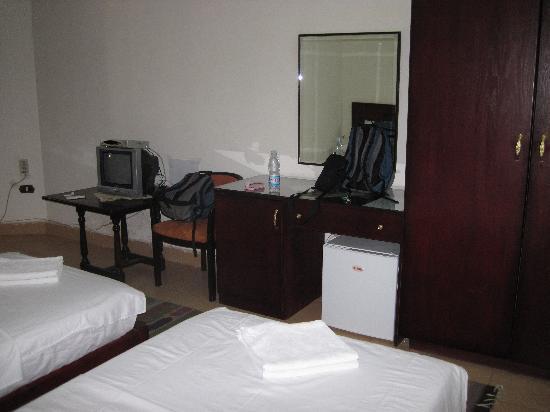 Hotel Transit Alexandria : Space to drop stuff