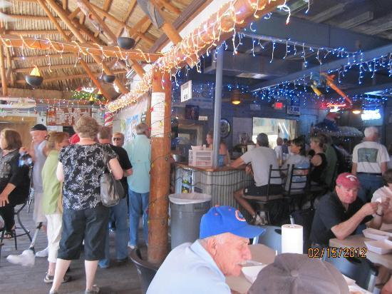 Cedar Key Fish & Oyster Company: The elegant interior
