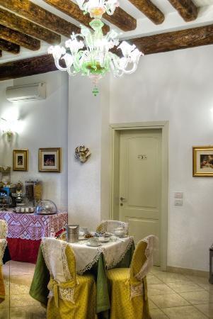Alla Vite Dorata: Dining area