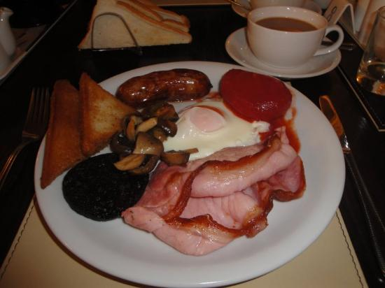 The Glen Alan Guest House: Wonderful cooked breakfast :-)