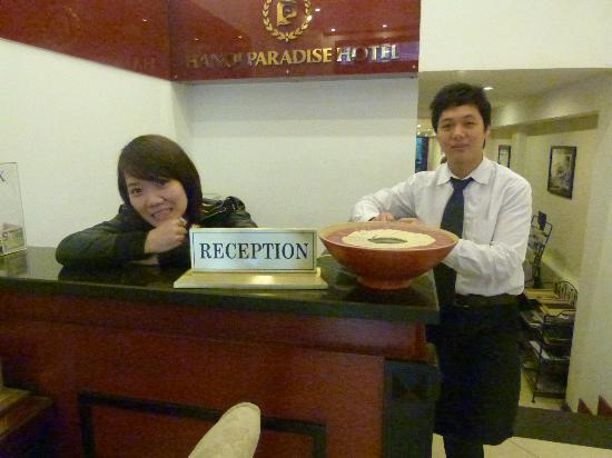 Paradise Boutique Hotel: Staff is very much engaged with a pleasant stay
