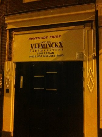 Vlaams Friteshuis Vleminckx : considered great chips/fries